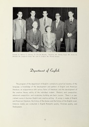 Page 16, 1949 Edition, Suffolk University - Beacon Yearbook (Boston, MA) online yearbook collection