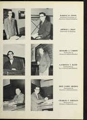 Page 13, 1953 Edition, Suffolk University - Beacon Yearbook (Boston, MA) online yearbook collection