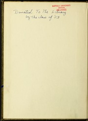 Page 2, 1953 Edition, Suffolk University - Beacon Yearbook (Boston, MA) online yearbook collection