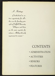 Page 8, 1953 Edition, Suffolk University - Beacon Yearbook (Boston, MA) online yearbook collection