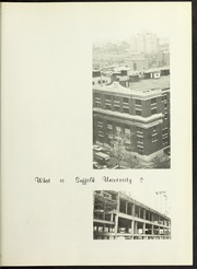 Page 5, 1966 Edition, Suffolk University - Beacon Yearbook (Boston, MA) online yearbook collection