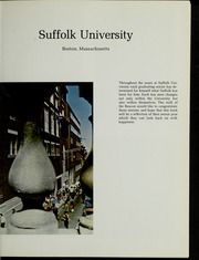 Page 5, 1974 Edition, Suffolk University - Beacon Yearbook (Boston, MA) online yearbook collection