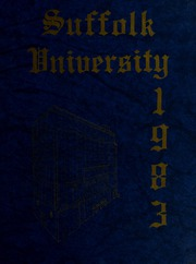 1983 Edition, Suffolk University - Beacon Yearbook (Boston, MA)