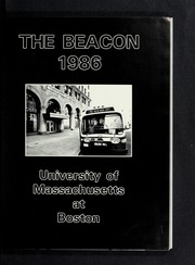 Page 5, 1986 Edition, University of Massachusetts Boston - Beacon Yearbook (Boston, MA) online yearbook collection