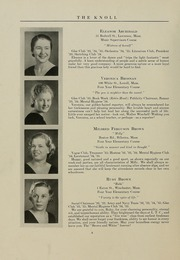 Page 12, 1935 Edition, University of Massachusetts Lowell - Knoll Yearbook (Lowell, MA) online yearbook collection