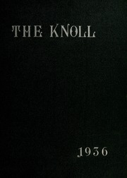 University of Massachusetts Lowell - Sojourn / Knoll Yearbook (Lowell, MA) online yearbook collection, 1936 Edition, Page 1