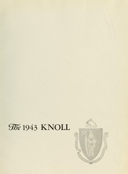 Page 5, 1943 Edition, University of Massachusetts Lowell - Knoll Yearbook (Lowell, MA) online yearbook collection