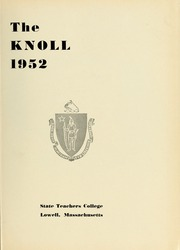Page 5, 1952 Edition, University of Massachusetts Lowell - Knoll Yearbook (Lowell, MA) online yearbook collection