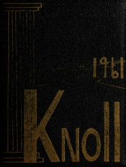 1961 Edition, University of Massachusetts Lowell - Sojourn / Knoll Yearbook (Lowell, MA)