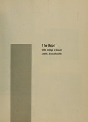 Page 5, 1966 Edition, University of Massachusetts Lowell - Knoll Yearbook (Lowell, MA) online yearbook collection