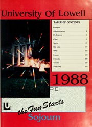 Page 5, 1988 Edition, University of Massachusetts Lowell - Knoll Yearbook (Lowell, MA) online yearbook collection