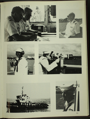 Reid (FFG 30) - Naval Cruise Book online yearbook collection, 1989 Edition, Page 15