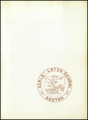 Page 5, 1949 Edition, Girls Latin School - Liber Annalis Yearbook (Boston, MA) online yearbook collection
