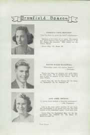 Page 13, 1950 Edition, Bromfield High School - Beacon Yearbook (Harvard, MA) online yearbook collection