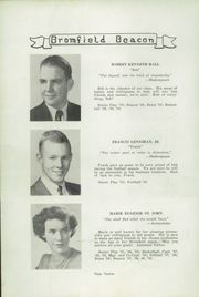 Page 14, 1950 Edition, Bromfield High School - Beacon Yearbook (Harvard, MA) online yearbook collection