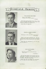 Page 15, 1950 Edition, Bromfield High School - Beacon Yearbook (Harvard, MA) online yearbook collection