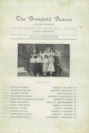 Page 3, 1950 Edition, Bromfield High School - Beacon Yearbook (Harvard, MA) online yearbook collection