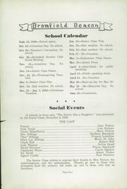 Page 6, 1950 Edition, Bromfield High School - Beacon Yearbook (Harvard, MA) online yearbook collection