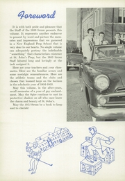 Page 8, 1953 Edition, St Johns Preparatory School - Spire Yearbook (Danvers, MA) online yearbook collection
