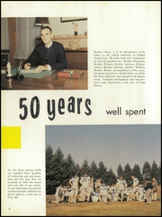 Page 10, 1957 Edition, St Johns Preparatory School - Spire Yearbook (Danvers, MA) online yearbook collection