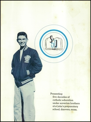 Page 5, 1957 Edition, St Johns Preparatory School - Spire Yearbook (Danvers, MA) online yearbook collection