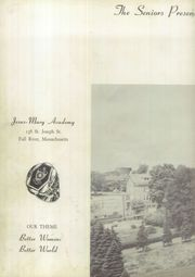 Page 6, 1953 Edition, Jesus Mary Academy - Echo Yearbook (Fall River, MA) online yearbook collection