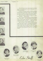 Page 9, 1953 Edition, Jesus Mary Academy - Echo Yearbook (Fall River, MA) online yearbook collection