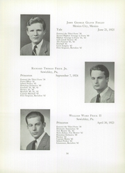 Page 16, 1942 Edition, Brooks School - Bishop Yearbook (North Andover, MA) online yearbook collection