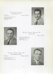 Page 17, 1942 Edition, Brooks School - Bishop Yearbook (North Andover, MA) online yearbook collection