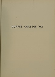 Page 5, 1962 Edition, Bradford Durfee College of Technology - Alethea Yearbook (Fall River, MA) online yearbook collection