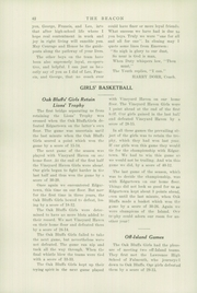 Oak Bluffs High School - Beacon Yearbook (Oak Bluffs, MA) online yearbook collection, 1934 Edition, Page 44