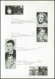 Page 13, 1949 Edition, Yarmouth High School - Green Wave Yearbook (Yarmouth, MA) online yearbook collection