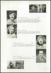 Page 16, 1949 Edition, Yarmouth High School - Green Wave Yearbook (Yarmouth, MA) online yearbook collection