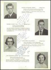 Page 12, 1955 Edition, Yarmouth High School - Green Wave Yearbook (Yarmouth, MA) online yearbook collection