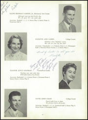 Page 15, 1955 Edition, Yarmouth High School - Green Wave Yearbook (Yarmouth, MA) online yearbook collection