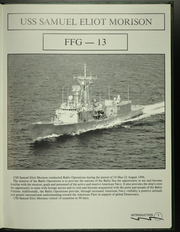 Page 5, 1996 Edition, Samuel Eliot Morison (FFG 13) - Naval Cruise Book online yearbook collection