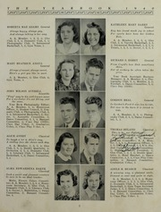Page 9, 1940 Edition, Whitman High School - Spotlight Yearbook (Whitman, MA) online yearbook collection