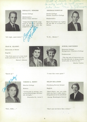 Page 10, 1956 Edition, Whitman High School - Spotlight Yearbook (Whitman, MA) online yearbook collection