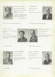 Page 11, 1956 Edition, Whitman High School - Spotlight Yearbook (Whitman, MA) online yearbook collection