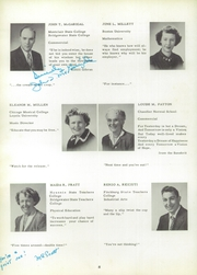 Page 12, 1956 Edition, Whitman High School - Spotlight Yearbook (Whitman, MA) online yearbook collection