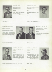 Page 13, 1956 Edition, Whitman High School - Spotlight Yearbook (Whitman, MA) online yearbook collection