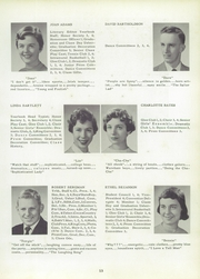 Page 17, 1956 Edition, Whitman High School - Spotlight Yearbook (Whitman, MA) online yearbook collection