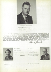 Page 8, 1956 Edition, Whitman High School - Spotlight Yearbook (Whitman, MA) online yearbook collection
