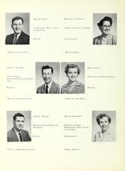 Page 10, 1957 Edition, Whitman High School - Spotlight Yearbook (Whitman, MA) online yearbook collection