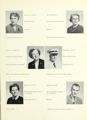 Page 11, 1957 Edition, Whitman High School - Spotlight Yearbook (Whitman, MA) online yearbook collection