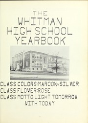 Page 5, 1959 Edition, Whitman High School - Spotlight Yearbook (Whitman, MA) online yearbook collection