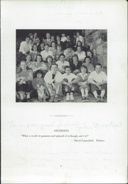 Buxton School - Yearbook (Williamstown, MA) online yearbook collection, 1950 Edition, Page 7