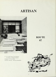 Page 6, 1967 Edition, McCann Technical School - Artisan Yearbook (North Adams, MA) online yearbook collection
