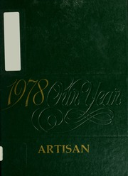 1978 Edition, McCann Technical School - Artisan Yearbook (North Adams, MA)