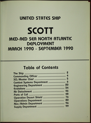 Page 5, 1990 Edition, Scott (DDG 995) - Naval Cruise Book online yearbook collection